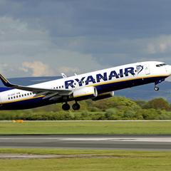 Компанія Ryanair скасувала 60% рейсів в найближчих півтора місяці