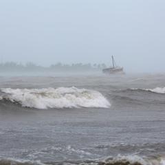 Буревій Марія сягнув найвищої категорії зі швидкістю вітру 260 км/год