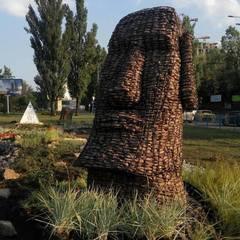 Зеленбудівці повідомили, що завтра у столиці  з'явиться  «Острів Пасхи» (фото)