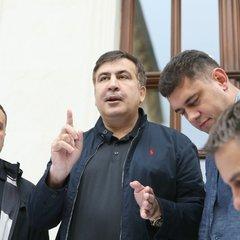 Саакашвілі вже у Києві, планує зустріч під Адміністрацією президента