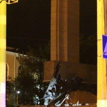 В окупованому Луганську підірвали пам'ятник терористам (фото)