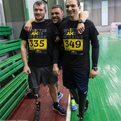 У Києві провели національну збірну на «Ігри нескорених» (відео)