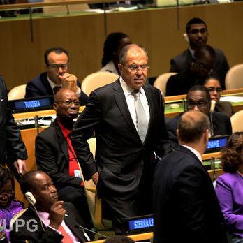Лавров в ООН: Перший базовий принцип миротворчості: «блакитні каски» може бути розгорнуто тільки за згодою сторін конфлікту