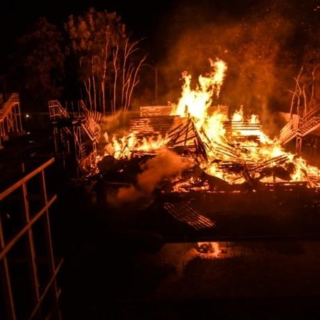 Віце-мер Одеси пішла у відставку після пожежі в дитячому таборі