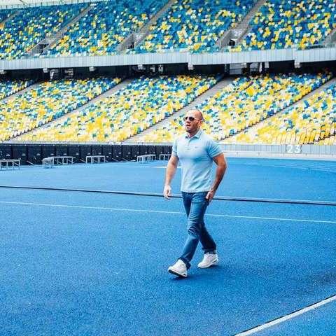 Джейсон Стетхем у Києві знявся в рекламі (фото)