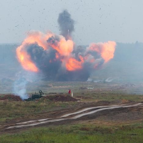 На «Западі-2017» відпрацювали умовний ядерний удар, – Турчинов