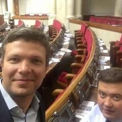 Самотнє селфі. Як виглядає зала Верховної Ради у робочий час (фото)