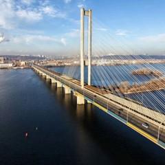 У Києві на дві ночі буде обмежений рух Південнним мостом
