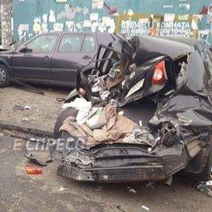 Масштабна ДТП у Києві: потрощені автівки та відкриті переломи (фото)
