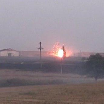 Військові назвали винних у вибухах на складах боєприпасів поблизу Маріуполя