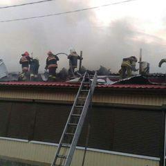 У Полтаві горів центральний ринок: димом накрило півміста (фото)