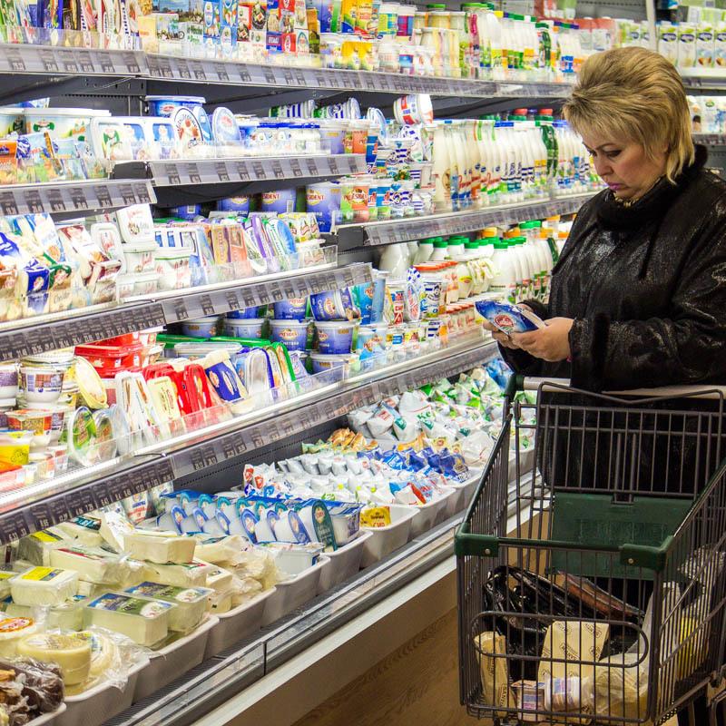Ціни на продукти в Україні за рік вийшли на рівень світових