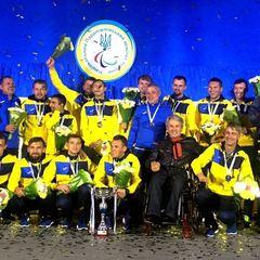 Вночі у «Борисполі» зустрічали паралімпійську збірну України з футболу (відео)
