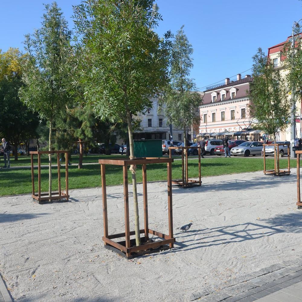 «Київзеленбуд» пропонує киянам долучитися до перейменування скверу на Подолі (фото)