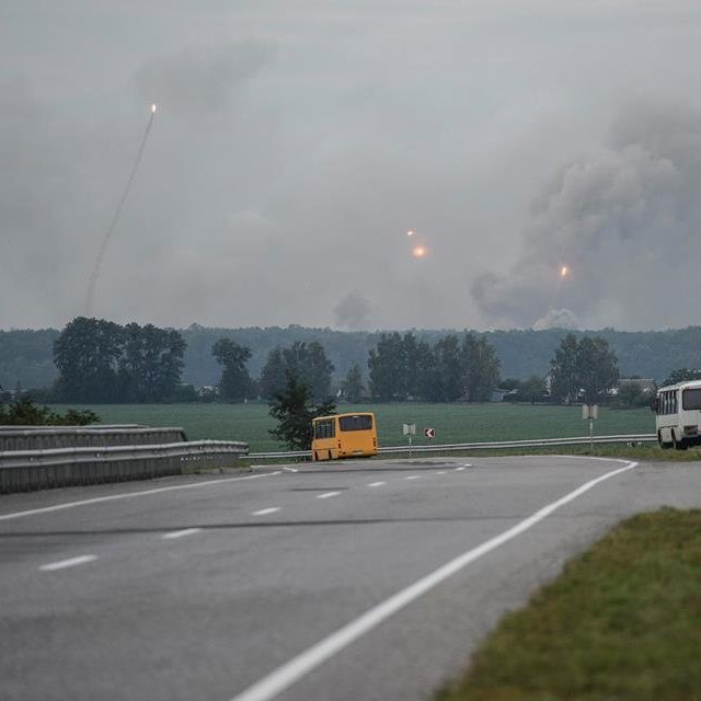 Житомирщина приймає евакуйованих із Вінничини (відео)