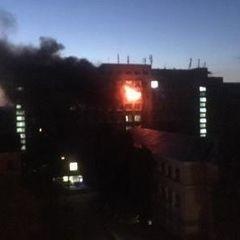 У Києві сталась пожежа в Інституті харчових технологій (фото)