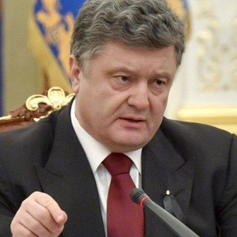 З'явилися фрагменти відео із засідання військового кабінету скликаного Порошенком