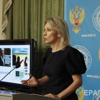 Захарова заявила, що українська ідея щодо миротворців на Донбасі «веде до зламу» форматів урегулювання конфлікту
