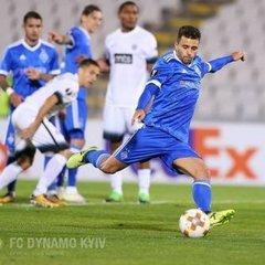 «Динамо» здобуло вольову перемогу над «Партизаном» у Лізі Європи