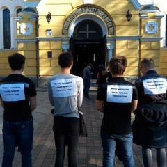 У Києві студентів змусили піти на молебень замість лекцій