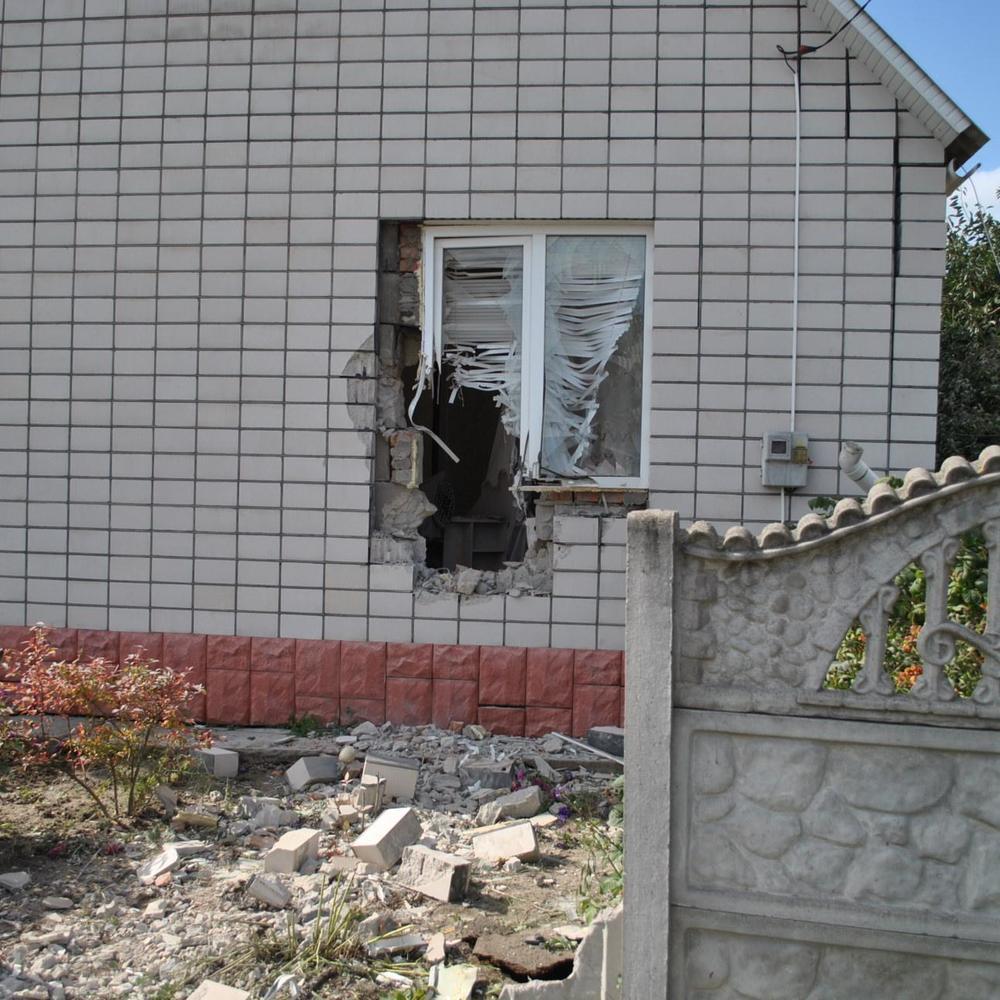 У Вінницькій ОДА назвали кількість пошкоджених будинків в Калинівці
