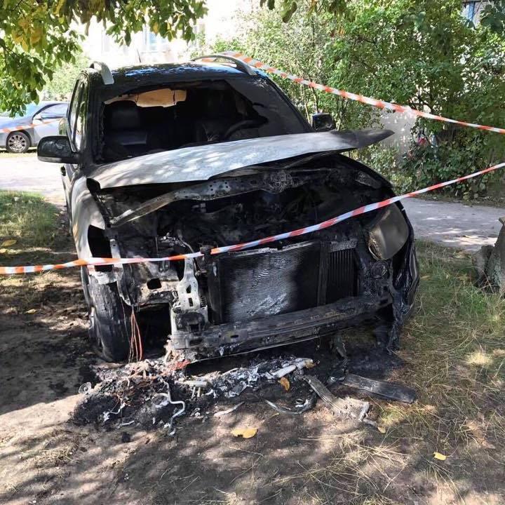 На Житомирщині підірвали авто депутата (фото)