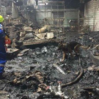 На підприємстві під Києвом спалахнула пожежа: є жертва