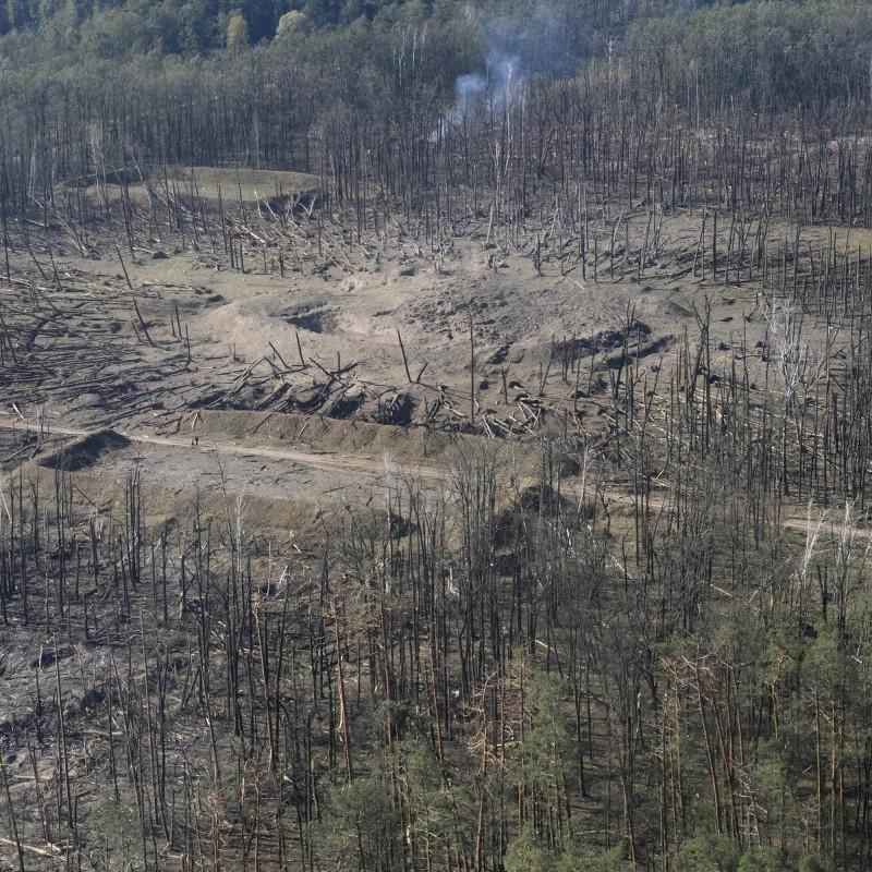В Калинівці досі спостерігається поодинока детонація боєприпасів