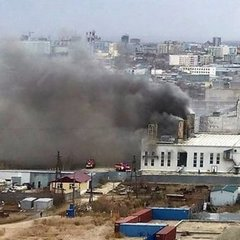 У Росії на електростанції стався вибух (відео)