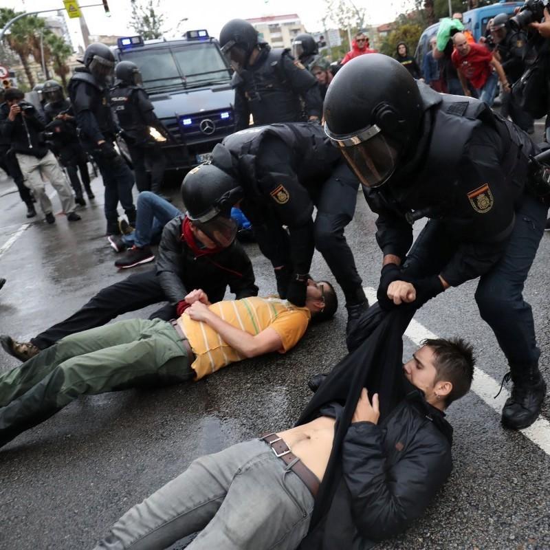 Сутичка із поліцією у Каталонії: постраждало понад 300 людей