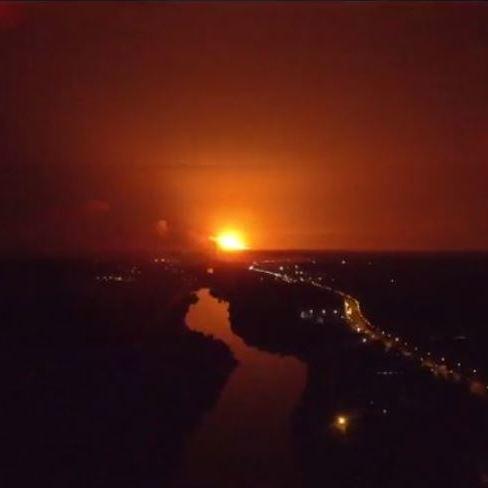Жителі Чернігівської області побоюються вибухів на арсеналі з боєприпасами, що неподалік міста Ічня