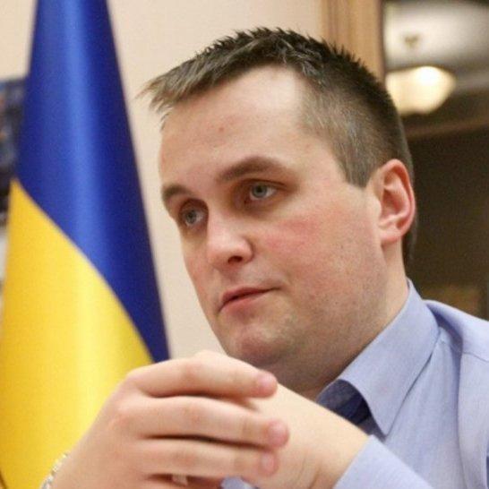 Луценко показав оперативне відео, як судді намагались вручити хабар Холодницькому