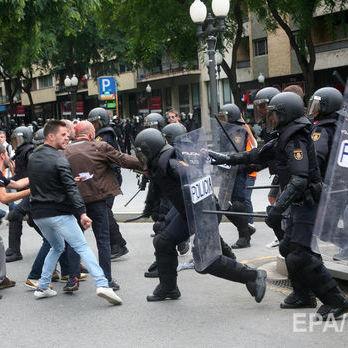 У сутичках під час референдуму в Каталонії постраждав 431 правоохоронець – ЗМІ