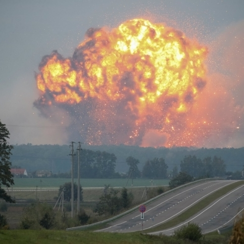 В Міноборони пояснили недостатнє фінансування арсеналу біля Калинівки «скороченням»