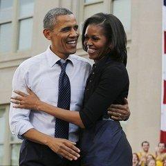Чверть століття разом: Мішель Обама привітала чоловіка й поділилася фото з весілля