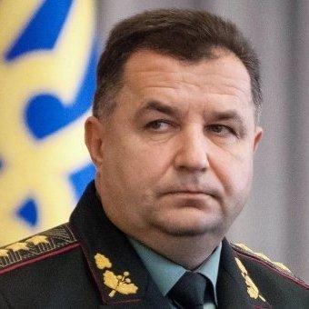 Стало відомо, яку зарплату отримав міністр оборони Полторак за вересень