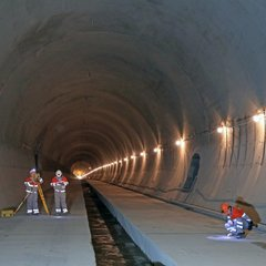 Завершено будівництво нового Бескидського тунелю в Карпатах
