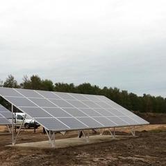 У Білорусі запустили станцію мобільного зв'язку на сонячних батареях