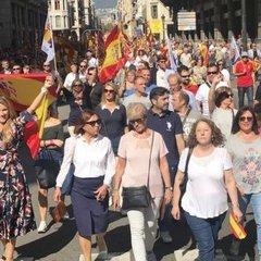 Мітинг у Барселоні: Поліція нарахувала 350 тисяч учасників