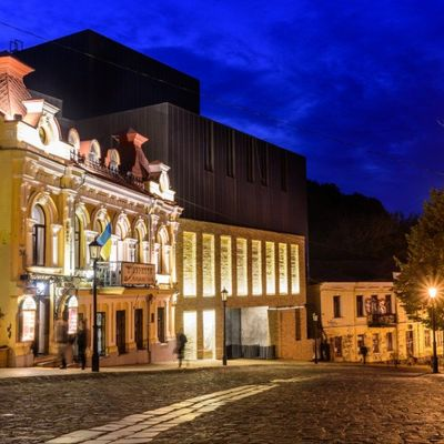 Порошенко відкрив скандальний Театр на Подолі (фото)
