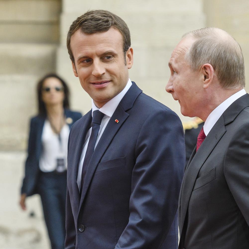 Макрон планує приїхати до Путіна і поговорити про Україну