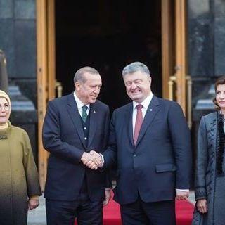 Ердоган прибув на переговори з Порошенком (відео)