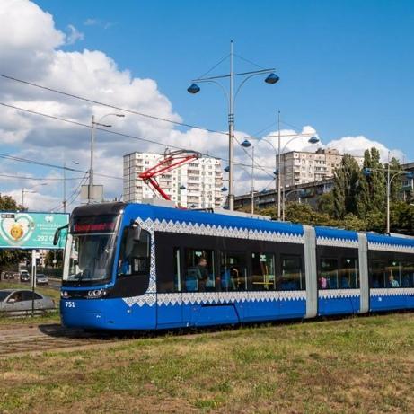 Польська компанія зібрала перший трамвай для Києва