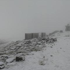 У Карпатах випав перший сніг (фото)