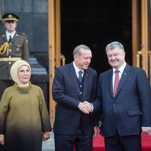 Президенти України та Туреччини спілкувалися більше трьох годин