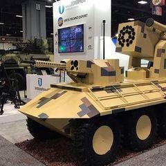 Укроборонпром вперше представив свою техніку на виставці в США