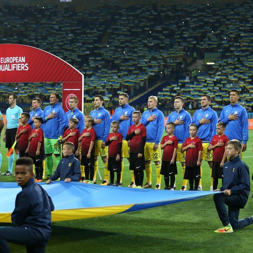 Матч Україна – Хорватія: весь стадіон заспівав гімн України (відео)