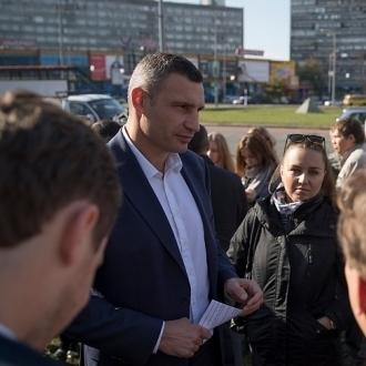 Віталій Кличко: «Наступного року в Києві капітально відремонтують Дарницьку площу та низку інших дорожніх об'єктів»