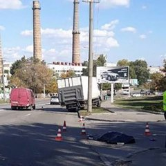 Смертельна автокатастрофа у Дніпрі:  вантажівка збила трьох пішоходів (фото)