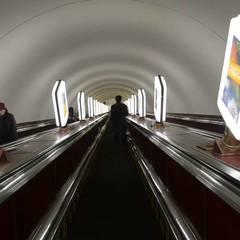 Жіночі підбори зупинили ескалатор на Хрещатику